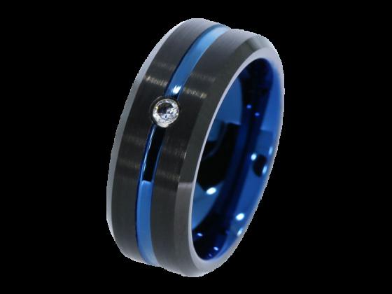 Modell Ambrose - 1 Ring aus Wolfram
