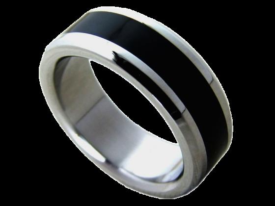 Modell Bonnie -  1 Ring aus Edelstahl