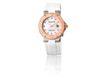 Engelhardt ladies watch with rubber strap in gift box