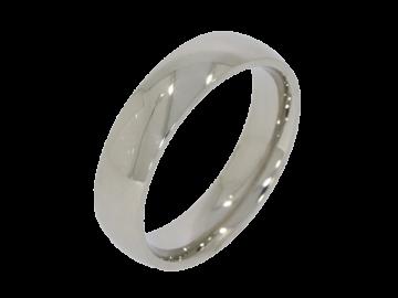 Modell Justus - 1 Ring aus Edelstahl