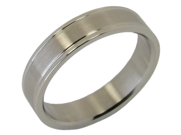 Modell Zahra - 1 Ring aus Edelstahl