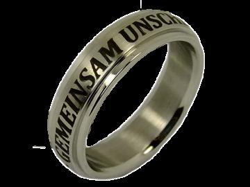 Modell Chris - 1 Ring aus Edelstahl