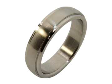Modell Gustav - 1 Ring aus Edelstahl