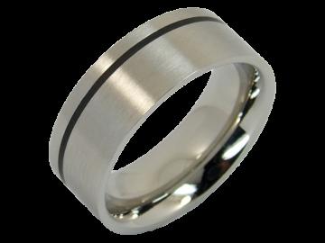 Modell Gereon - 2 Ringe aus Edelstahl