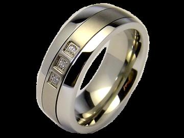 Modell Hero - 1 Ring aus Edelstahl & Titan