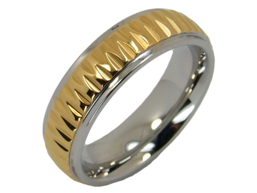 Modell Quendoline - 1 Ring aus Edelstahl