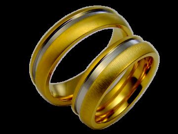 Modell Diane - 2 Ringe aus Edelstahl