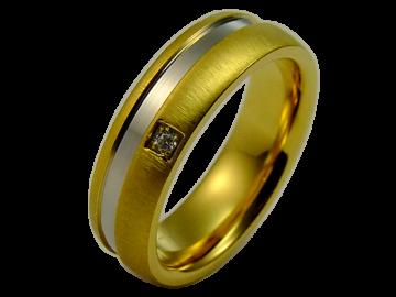 Modell Diane - 1 Ring aus Edelstahl