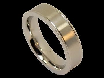 Modell Antoinette - 1 Ring aus Edelstahl