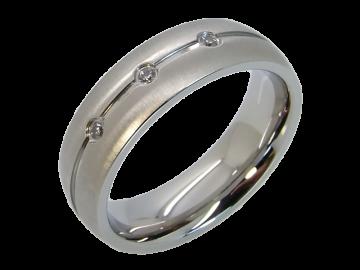 Modell Cedric - 1 Ring aus Edelstahl
