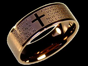 Modell Katherine - 1 Ring aus Edelstahl