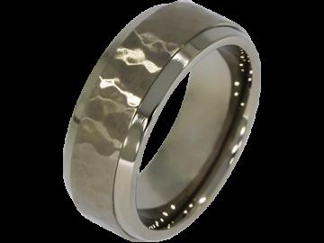 Modell Olivier - 1 Ring aus Titan