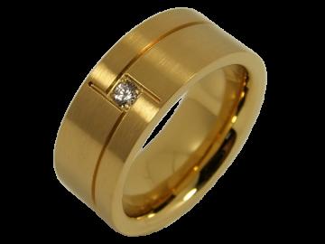 Modell Christine - 1 Ring aus Edelstahl