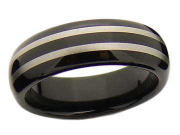 Modell Lois/Anton - 1 Ring aus Wolfram 6mm