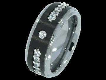 Modell Caspar - 1 Ring aus Wolfram