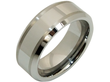 Modell Eros - 1 Ring aus Wolfram