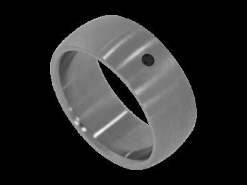 Modell David - 1 Ring aus Edelstahl