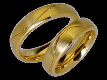 Modell Elizabeth - 2 Ringe aus Edelstahl