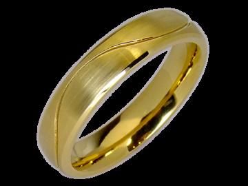 Modell Elizabeth - 1 Ring aus Edelstahl
