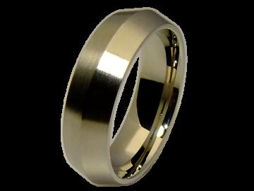 Modell Barbra - 1 Ring aus Edelstahl