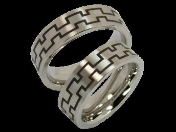Modell Thor - 2 Ringe aus Edelstahl