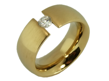 Modell Mia - 1 Ring aus Edelstahl