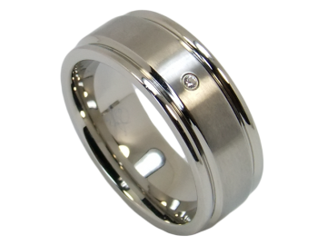 Modell Romy - 1 Ring aus Edelstahl