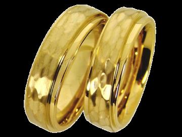 Modell Lancelot - 2 Ringe aus Edelstahl
