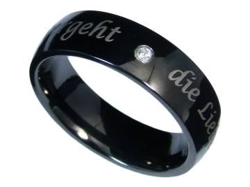 Modell Theresa - 1 Ring aus Edelstahl