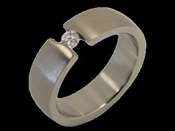 Modell Lilly - 1 Ring aus Edelstahl