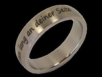 Modell Finley - 2 Ringe aus Edelstahl