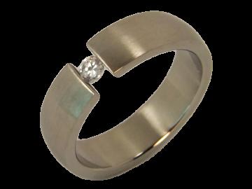 Modell Felix - 1 Ring aus Edelstahl