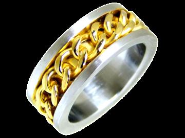 Modell Michael - 1 Ring aus Edelstahl