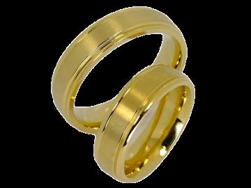 Modell Britney - 2 Ringe aus Edelstahl