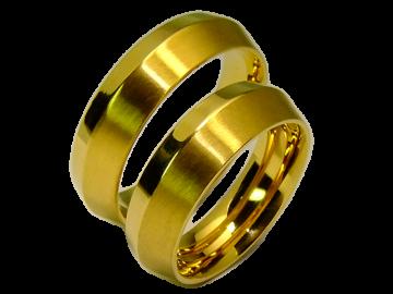 Modell Jane - 2 Ringe aus Edelstahl