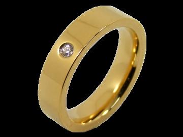 Modell Bill - 1 Ring aus Edelstahl