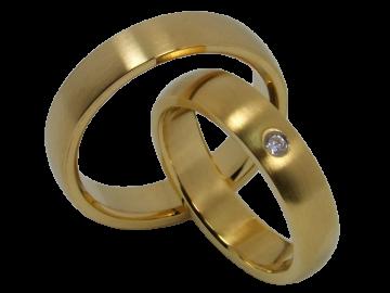 Modell Sophia - 2 Ringe aus Edelstahl