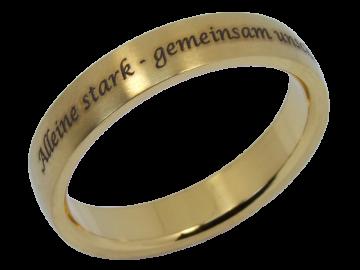 Modell William - 1 Ring aus Edelstahl