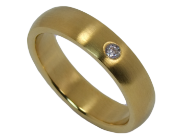 Modell Sophia - 1 Ring aus Edelstahl
