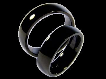 Modell Damon - 2 Ringe aus Edelstahl