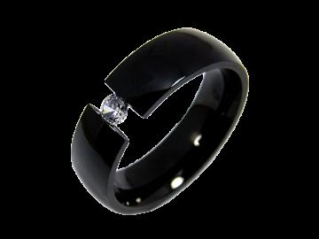 Modell Damon - 1 Ring aus Edelstahl