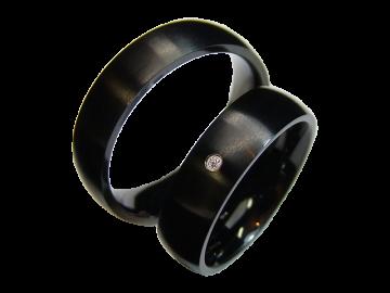 Modell Elena - 2 Ringe aus Edelstahl