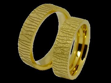 Modell Isabelle - 2 Ringe aus Edelstahl