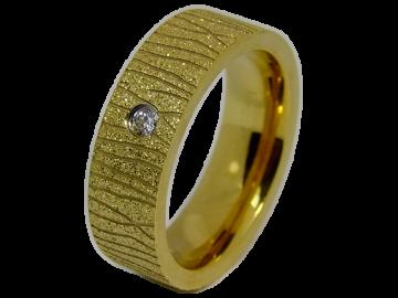 Modell Isabelle - 1 Ring aus Edelstahl