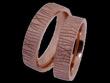 Modell Heidi - 2 Ringe aus Edelstahl