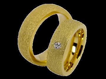 Modell Pascal - 2 Ringe aus Edelstahl