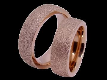 Modell Henry - 2 Ringe aus Edelstahl