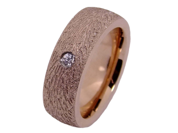 Modell Henry - 1 Ring aus Edelstahl