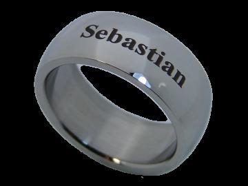 Modell Ursel - 1 Ring aus Edelstahl
