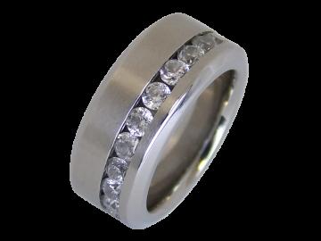 Modell Pauletta - 1 Ring aus Edelstahl